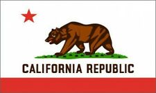 2'x3' CALIFORNIA FLAG USA CA STATE GRIZZLY BEAR GOLDEN OUTDOOR INDOOR BANNER 2X3