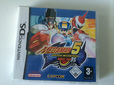 NINTENDO DS/DS LITE/DSI/3DS Spiel - MegaMan Battle Network 5: Double Team