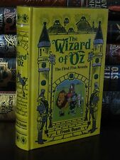THE WIZARD OF OZ; FIRST FIVE NOVELS by L. FRANK BAUM - LEATHERBOUND & BRAND NEW!