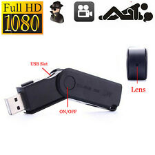 HD1080P Mini USB Flash Pen Camera U Disk hidden Spy Video Recorder Camcorder DVR