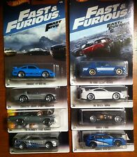 Hot Wheels Fast and the Furious 2017 Set WALMART Exclusive Set of 8 Cars