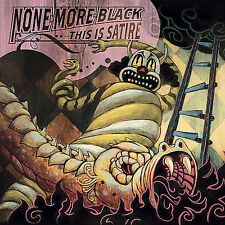 None More Black - Punk - THIS IS SATIRE CD