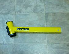 Straight Front Frame for  Kettler Kettrike Air Happy Tricycle - Yellow