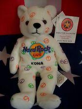 HRC Hard Rock Cafe Kona Hawaii Peace Beara Bear Bär Series Herrington