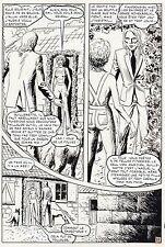 PLEYERS UNE MORTE A TUER  PLANCHE ORIGINALE AREDIT PARTIE 2  PAGE 31