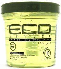 ECO STYLER OLIVE OIL STYLING HAIR GEL MAXIMUM HOLD  16 OZ.
