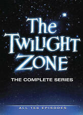 The Twilight Zone The Complete Series (DVD, 2013, 25-Disc Set) 1 2 3 4 5 New