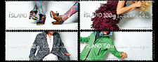 Icelandic Fashion set of 4 mnh stamps 2012 Iceland #1260-3 shoes dress sweater