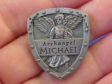 ARCHANGEL ST Michael Pocket Token Protection Saint Medal SHIELD By Angel Star
