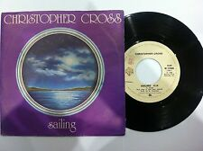 45 GIRI VINILE CHRISTOPHER CROSS SAILING / THE LIGHT NUOVO D'EPOCA