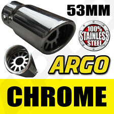 CHROME EXHAUST TAIL PIPE FIAT GRANDE PUNTO ABARTH STILO