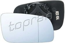Wing Electric Convex Heated Mirror Glass Right Fits Skoda Octavia 1997-2011