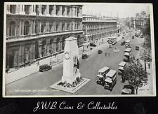 Old Postcard of The Cenotaph and Whitehall, London