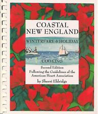 COASTAL NEW ENGLAND WINTERFARE HOLIDAY COOKING COOKBOOK SHERRI ELDRIDGE SEAFOOD