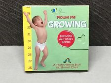 Lot of 12: New Picture Me Growing Photo Memory Growth Chart & Book