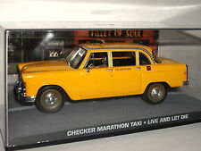 007 Checker Marathon taxi Live and Let Die 1/43