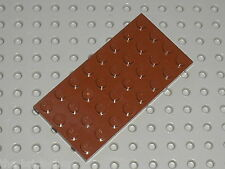 Plaque plate LEGO RedBrown plate 4 x 8 ref 3035 / Set 10144 10210 10152 6210 ...