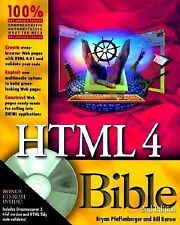 HTML 4 Bible (with CD-ROM)