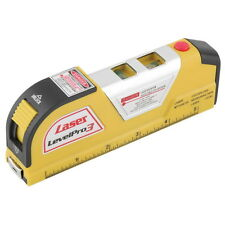 LV02 Laser Level Horizontal Vertical Line Measure Measuring Tape 8 FT BE