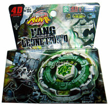 TAKARA TOMY Beyblade Fang Leone 130W2D BB106 4D System + Light Launcher 2