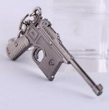 Gun Pendant Key ring chain Cross Fire Mauser Military Weapon Model Metal 6CM ☆