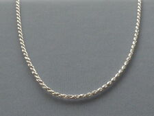 """NEW-ITALIAN STERLING SILVER CHAIN/NECKLACE- 16""""- ROPE-035- 1.6MM-ITALY 925"""