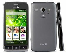 New Doro Liberto 820 Mini Black 3G Android Smartphone Easy To Use Unlocked Phone
