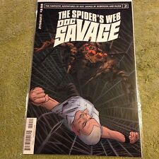 DOC SAVAGE 2  Dynamite comic Book THE SPIDER'S WEB