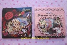KAWAII sticker flakes lot, San-X Sentimental Circus 2-pack set, 120 stickers