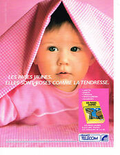 PUBLICITE ADVERTISING 024   1990   FRANCE TELECOM   les pages jaunes