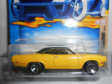 Hot Wheels 2002 Hot Rod Magazine Mopar '70 Plymouth Road Runner (Yellow) #110