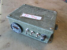 Used Battery Box Alarm, Digital Readout-Damaged, Sold for Parts, Military Tent?