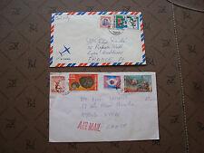 THAILANDE - 2 enveloppes (cy87)