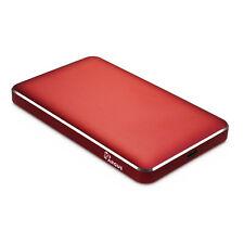 """extern HDD Gehäuse Inter-Tech Argus GD-25609 2,5"""" USB Type-C 3.0 Gehäuse rot"""
