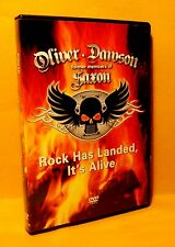 DVD Oliver Dawson Saxon Rock Has Landed, It's Alive 2008 ZYX Classic Rock RARE !