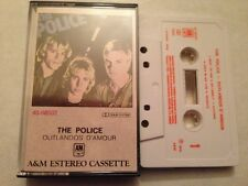 POLICE STING - SPANISH CASSETTE SPAIN OUTLANDOS D'AMOUR