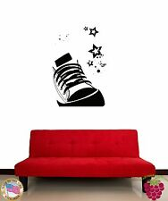 Wall Sticker Shoe Youth Symbol Culture Cool Decor for Living Room z1336
