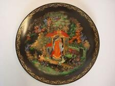 BRADEX TIANEX RUSSIAN LEGENDS & FAIRY TALES THE PRINCESS & THE 7 BOGATYRS PLATE