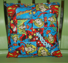 Super-Girl Pillow HANDMADE NEW Supergirl Pillow Super Girl Pillow Made In USA