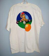 NOS Joe Camel T-Shirt POOL PLAYER Extra Large/XL never worn
