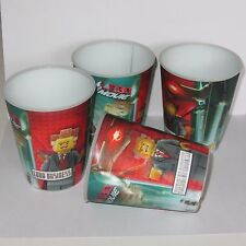 McDonalds 4  Lego Movie  3D Lenticular Cups  Lord President Business