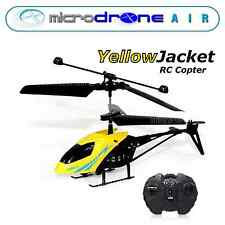 """MicroDRONE Red Wasp or Yellow Jacket Copter 6""""  Remote Control"""