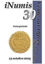 Catalogue VSO Inumis 30 du 13/10/2015 et prix réalisés