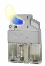 "Z-Plus ""Pipe"" Lighter Butane Insert, Single Flame, Refillable, Traditional Flame"