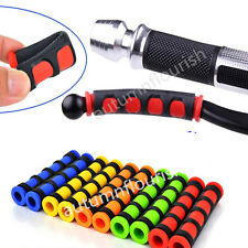 Red  Motorcycle ATV Scooter Bike Fringe Brake Clutch Lever Grip Covers universal