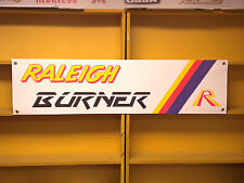 Raleigh Burner BMX bicycle retro advertising banner, Team Areo Pro