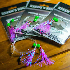 5 Whiting Rig Paternoster Circle Hook 30lb Bait Fishing Flasher Rigs Bream Piers