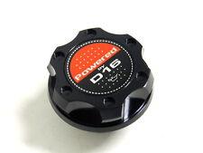 BLACK BILLET CNC RACING ENGINE OIL FILLER CAP HONDA CIVIC CRX DEL SOL D16