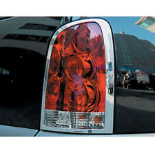 Chrome Tail Light Lamp Cover 2p For 2001 - 2010 Ssangyong Rexton