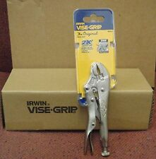 "Irwin Vise-Grip 5WR 902L3 5"" Curved-Jaw Locking Pliers w/wire Cutter (Box of 5)"